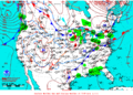 2013-02-05 Surface Weather Map NOAA.png