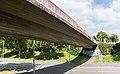 2013-09-02 Fußgängerbrücke über die Ludwig-Erhard-Allee, Bonn-Hochkreuz IMG 0868.jpg