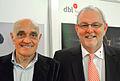 2014-10-08 Wirtschaftsmesse Hannover 2014, (133) Martin Kind und Bernd Bühmann.jpg