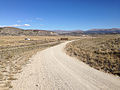 2014-10-20 13 14 44 View northeast along Goose Creek Road about 1.1 miles east of the Nevada state line in Box Elder County, Utah.JPG