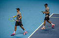 2014-11-12 2014 ATP World Tour Finals Mike and Bob Bryan by Michael Frey.jpg