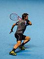 2014-11-12 2014 ATP World Tour Finals Stanislaw Wawrinka footwork by Michael Frey.jpg