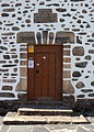 2014. Porta da igrexa de Santo André de Teixido. Cedeira. Galiza. Tx13.jpg
