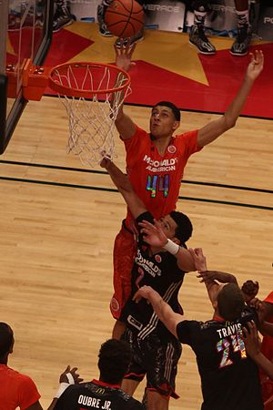 Justin Jackson (basketball, born 1995) - Jackson in the 2014 McDonald's All-American Boys Game