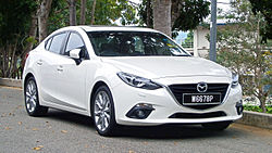 2014 Mazda 3 Sedan (BM) 2.0 SkyActiv (CBU) 4-door sedan (19518748070).jpg
