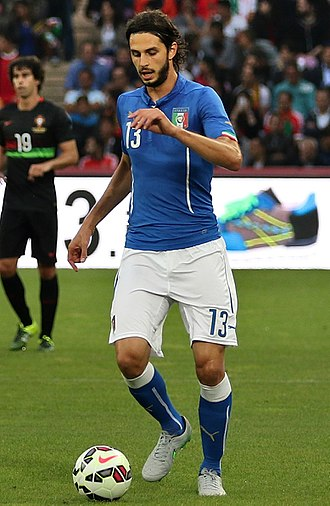 Andrea Ranocchia - Ranocchia playing for Italy in 2015