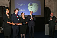 Award ceremony Erasmus Prize