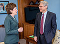 2016 April 05 US Senator Susan Collins meets with Merrick Garland (cropped).jpg