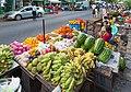 2016 Rangun, Ulica Old Yay Tar Shay, Stoiska z jedzeniem (04).jpg