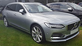 Volvo Scalable Product Architecture platform - Image: 2016 Volvo V90 Inscription D5 PP AWD 2.0 Front