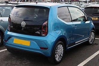 Volkswagen Up - 2017 facelift (3-door)