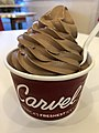 2018-03-04 17 55 48 Large serving of chocolate soft-serve ice cream at the Carvel off of Denow Road in Hopewell Township, Mercer County, New Jersey.jpg