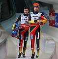 2018-11-25 Doubles Sprint World Cup at 2018-19 Luge World Cup in Igls by Sandro Halank–265.jpg