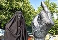 20180613 Folkemodet Bornholm burka happening 0110 (40978883920).jpg