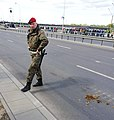 2019-05-03 Wisłostrada highway during a military parade.jpg