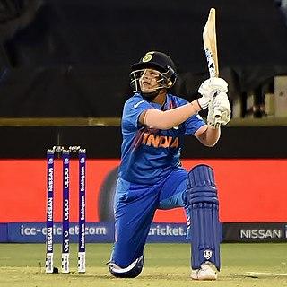 Shafali Verma Indian cricketer