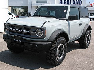 Ford Bronco American sport-utility vehicle