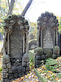 251012 Detail of tombstones at Jewish Cemetery in Warsaw - 61.jpg