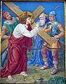 2 Jezus bierze krzyz na ramiona, kolegiata, Lidzbark Warmiński.jpg