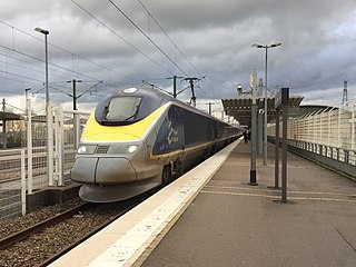 electric multiple unit that operates Eurostar