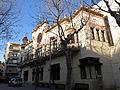 340 Ateneu Canetenc (Canet de Mar), façana de la riera de Sant Domènec.JPG