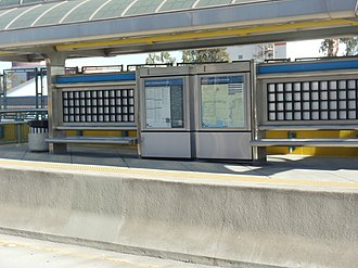 37th Street/USC station - Image: 37th Street & USC Metro Silver Line Station 11