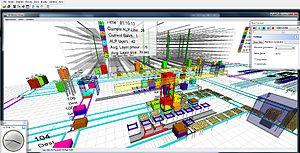 Enterprise Dynamics - Warehouse model