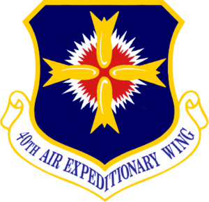 40th Air Expeditionary Wing - 40th Air Expeditionary Wing emblem