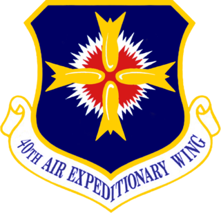 Air expeditionary unit located at Diego Garcia, in the Indian Ocean