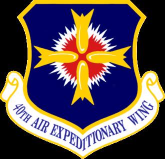40th Air Expeditionary Wing - 40th Air Expeditionary Wing emblem