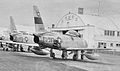 417th Fighter-Bomber Squadron - North American F-86F-30-NA Sabre - 52-4597 - Clovis AFB NM 1953.jpg