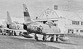 417th Fighter-Bomber Squadron - North American F-86F-30-NA Sabre - 52-4597 - Clovis AFB NM 1953.jpg
