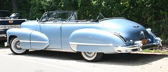 Mohammed Mohiedin Anis - A 1947 Cadillac convertible (all the cars shown are representative examples, and not from his actual collection)