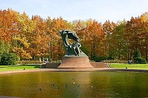Łazienki Park - Image: 4 Warszawa Lazienki Krolewskie 107