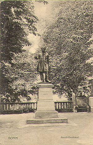 Bernhard Afinger - Monument to Ernst Moritz Arndt, 1865, Bonn