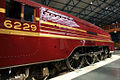 6229 Duchess of Hamilton streamlined steam locomotive National Railway Museum York 6 June 2009.jpg