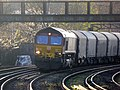 66139 6O32 Margam to Dollands Moor (then to Broekman Group in Rotterdam, the Netherlands or to Myriad in Maubeuge France) (17156750902).jpg