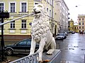 788. St. Petersburg. Lion Bridge.jpg