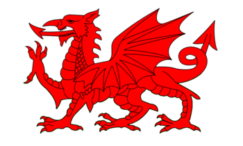 English: Welsh Dragon
