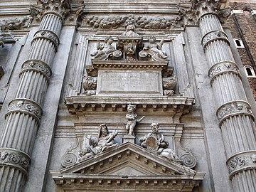 8222 - Venezia - Heinrich Meyring, Cenotafio di Vincenzo Fini (+1726) - San Moisè - Foto Giovanni Dall'Orto, 12-Aug-2007.jpg
