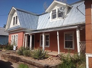 National Register of Historic Places listings in San Miguel County, New Mexico - Image: 926 S. Pacific Las Vegas NM