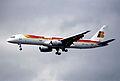 95bn - IBERIA Boeing 757-256; EC-HDS@LHR;01.06.2000 (5397694941).jpg