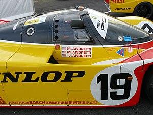 Michael Andretti - Andretti's family 962C, Le Mans 1988
