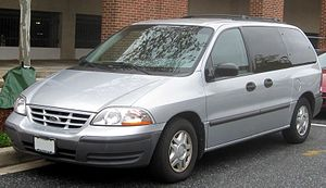 1999-2000 Ford Windstar photographed in Colleg...