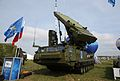9S19ME sector surveillance radar at the MAKS-2013.jpg