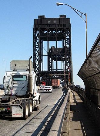 U.S. Route 1/9 Truck - Passaic River Bridge