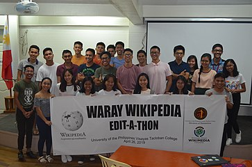 9th Waray Wikipedia Edit-a-thon 46.JPG