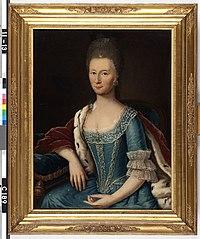 Alexandrine Charlotte van Westerholt (1724-1778). Echtgenote van Jacob Adolph van Heeckeren