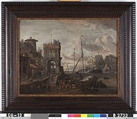 An Italian harbor