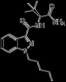 ADB-PINACA strukture.png